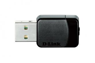 Безжичен USB адаптер D-Link Wireless AC DualBand USB Micro