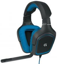 Геймърски слушалки Logitech G430 7.1 Surround Sound Gaming Headset | 981-000537
