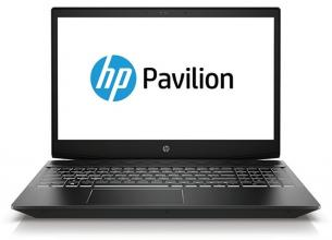 "Лаптоп HP Pavilion Power 15-cx0034nu (4FQ95EA) 15.6"" FHD UWVA IPS, i5-8300H, 16GB RAM, 128GB SSD, 1TB HDD, GTX 1050Ti, 4GB, Черен"