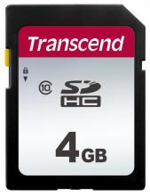 SD Card Transcend 4GB, Class10 (TS4GSDC300S)