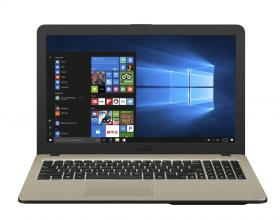 "Лаптоп ASUS VivoBook 15 X540NA-GQ063 | 90NB0HG1-M02510 | 15.6"" HD, Intel Celeron N3350, 4GB RAM, 1 TB HDD, Intel HD Graphics, Linux, Cam, Черен"