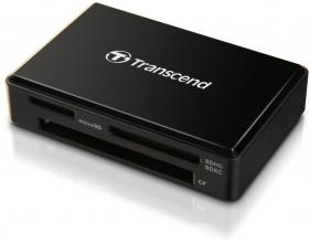 Четец за карти Transcend All-in-1 Multi Memory Card Reader, USB 3.0/3.1 Gen 1, Черен