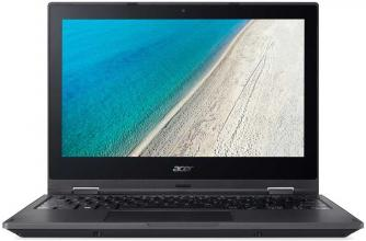 "UPGRADED Acer TravelMate TMB118-M-P8RM | NX.VHPEX.002 | 11.6"" HD, Pentium N5000, 8GB RAM, 128GB SSD, Win 10, Черен"