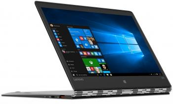 "Лаптоп Lenovo Yoga 900S-12ISK (80ML005PBM) 12.5"" QHD IPS Touch, Intel Core M7 6Y75, 8GB RAM 512 GB SSD, Intel HD, Win 10, Сребрист"