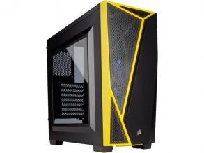 Компютърна кутия Corsair Carbide Series™ SPEC-04 Mid-Tower Gaming Case — Black/Yellow