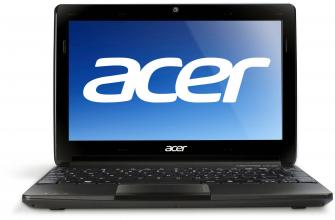 "Acer Aspire ONE D270 10.1"" 1024x768, N2600, 2GB RAM, 320GB HDD, Cam"