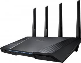 Геймърски рутер ASUS RT-AC87U AC2400 Dual-Band Gigabit Wireless Router, Access Point Mode