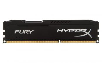 Kingston 8GB DDR4 2400MHz CL15 HyperX FURY Black