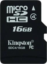 Карта памет KINGSTON CL4 microSD 16GB Class 4