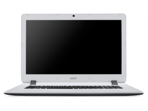"UPGRADED ACER ES1-732-P3ZY 17.3"" LED HD+, Pentium N4200, 4GB, 240GB SSD, 1TB HDD, Intel HD Graphics 505, Linux, Бял NX.GH6EX.001"