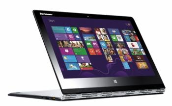 "Lenovo Yoga 3 Pro (80HE0164BM) 13.3"" QHD+ IPS Touch, Intel Core M-5Y71, 4GB RAM, 256GB SSD, Windows 10, Сребрист"