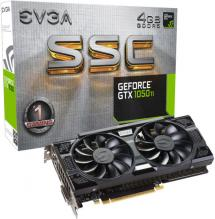 Видео карта  EVGA GeForce® GTX 1050 Ti SSC GAMING ACX 3.0 4GB GDDR5 (04G-P4-6255-KR)