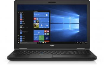 "Лаптоп Dell Latitude 5580, 15.6"" FHD, Intel Core i7-7600U, 8GB RAM, 500GB HDD, Черен (N030L558015EMEA_UBU)"