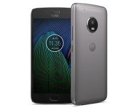 Смартфон Motorola Moto G5 Plus 32GB, Single SIM, Сив (SM4474AC3N6)
