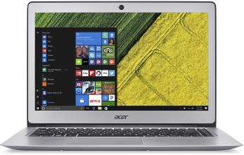 "Acer Aspire Swift 1 (NX.GNKEX.006) 13.3"" IPS FHD, Pentium N4200, 4GB RAM, 128GB SSD, Win 10, Сребрист"
