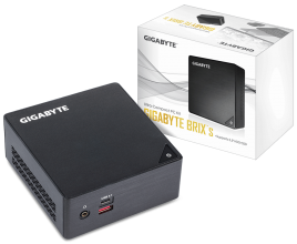 Настолен компютър Gigabyte Brix BKi7HA-7500 (Intel Core i7-7500U, 2 x SO-DIMM DDR4, M.2 SSD,USB Type-C, WF+BT) (GA-PC-BKi7HA-7500)
