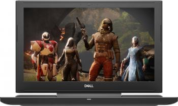 "Dell Inspiron 7577, 15.6"" FHD IPS, i7-7700HQ, 16GB RAM, 256GB SSD, 1TB HDD, GTX 1060 6GB, Черен"