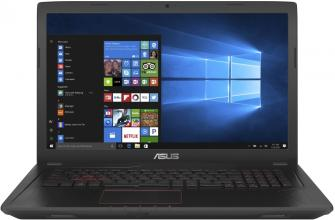 "UPGRADED ASUS FX753VD-GC071, 17.3"" IPS FHD, i7-7700HQ, 8GB RAM, 128GB SSD, 1TB HDD, GTX 1050, Металик"