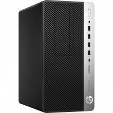Компютър HP ProDesk 600 G3 MT (Intel Core i5-7500 3.4/3.8GHz, 8GB DDR4 2400MHz, 256GB PCIe SSD, DVD-RW, Win 10 Pro) (1HK50EA)