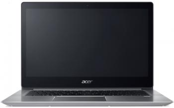 "Лаптоп Acer Aspire Swift 3 Ultrabook (NX.GQGEX.007) 14.0"" FHD IPS, i7-8550U, 8GB RAM, 512GB SSD, Win 10, Сребрист"