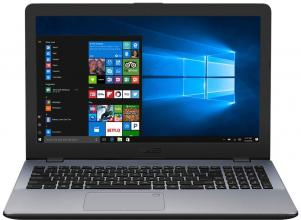 "UPGRADED ASUS VivoBook 15 X542UQ-DM129, 15.6"" FHD, i7-7500U, 12GB RAM, 120GB SSD, 1TB HDD, GF 940MX, Сив"