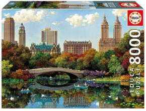 Пъзел Educa Central Park Bow Bridge NY от 8000 части - (17136)