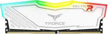 Памет Team Group T-Force DELTA RGB DDR4 4GB 2400 mhz CL15-15-15-35 1.2V Бял