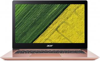 "Acer Swift 3 SF314-52-504L, 14.0"" FHD IPS, i5-7200U, 8GB RAM, 256GB SSD, Win 10, Розово злато"