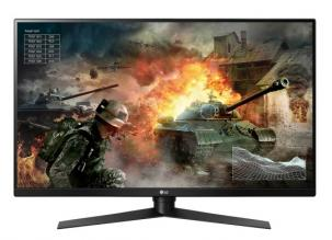 "Геймърски монитор LG 27GK750F-B, 27"" TN, FHD (1920x1080), 2ms, 240Hz, AMD FreeSync, Mega DFC, Черен мат"