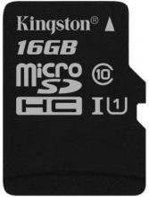 Карта памет KINGSTON microSDHC 16GB Class 10 UHS-I