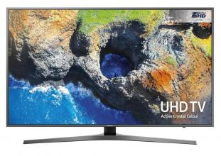 "Телевизор Samsung 40"" 40MU6472 4K UHD LED TV, SMART, QuadCore, HDR, Active Crystal Colour, Титан"