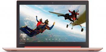 "Lenovo IdeaPad 320 (15) 320-15IAP (80XR01BMBM) 15.6"" HD, Intel N3350, 4GB RAM, 1TB HDD, Червен"