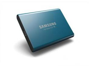 Portable SSD диск Samsung T5 Series 500 GB USB type-C Metal Blue