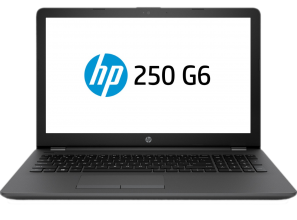 "Лаптоп HP 250 G6 (3VJ19EA) 15.6"" HD, Celeron N4000, 4GB RAM, 500GB HDD, Черен"