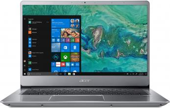 "Лаптоп Acer Aspire Swift 3 Ultrabook SF314-54-310N (NX.GXZEX.013) 14.0"" FHD, i3-8130U, 8GB RAM, 256GB SSD, Win 10, Сребрист"