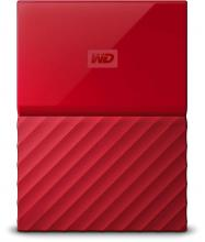 Външен диск Western Digital My Passport 1TB USB 3.0 (WDBYNN0010BRD)