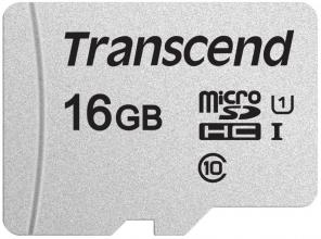 Карта памет Transcend 16GB microSD UHS-I U3A1 (without adapter) (TS16GUSD300S)