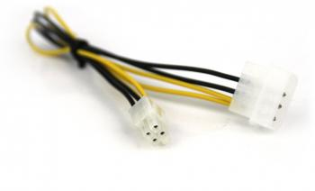 VCom Адаптер Molex Male to 4Pin P4 ATX - CE309-0.3m