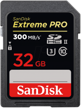 Карта памет Sandisk  Extreme Pro® SD 32GB (SD-SDXPK-032G-GN4IN)