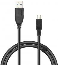 Кабел Speedlink Micro-USB Cable, USB-A to Micro-USB, 1.80м (SL-170212-BK)