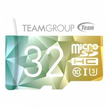 Карта памет Team Group Color Card II  Micro SDHC/SDXC + SD Адаптер, 32GB