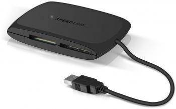 Четец за карти Speedlink SNAPPY Card Reader All-in-One - USB 2.0 (SL-150000-BK)