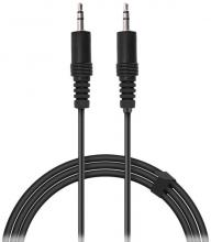 Кабел Speedlink Audio Stereo Jack Cable, 3.5mm jack to 3.5mm jack, 0.5м (SL-170304-BK)