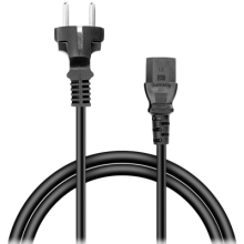 Кабел Speedlink Power Cord - 3-pin socket, 1.5м HQ (SL-170101-BK)