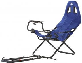Геймърски стол Playseat Challenge PlayStation, Син (PLAYSEAT-RC-CH-PS)