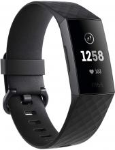 Fitbit Charge 3 Graphite Black смарт часовник (FB409GMBK-EU)