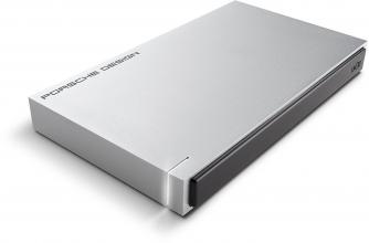 "LaCie 2TB Porsche Design Mobile Drive 2.5"" USB 3.0 Type C Light външен диск, Сребрист (STET2000403)"