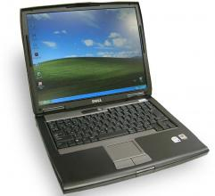 "Dell Latitude D520, 15"" 1024x768, T5500, 2GB RAM, 80GB HDD, No cam"