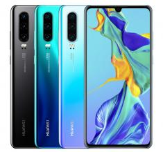 "Смартфон Huawei P30 ELE-L29, 6.1"" FHD+(2340x1080), 128 GB, Breathing Crystal"