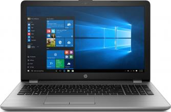 "Лаптоп HP 250 G6 | 3VK25EA | 15.6"" HD, i3-7020U, 4GB RAM, 500GB HDD, Сребрист"